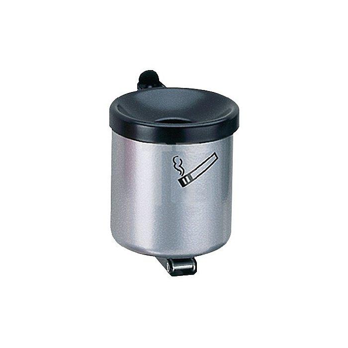 Sicherheitswandascher neusilber m.Kippvorrichtung H.120xD.110mm