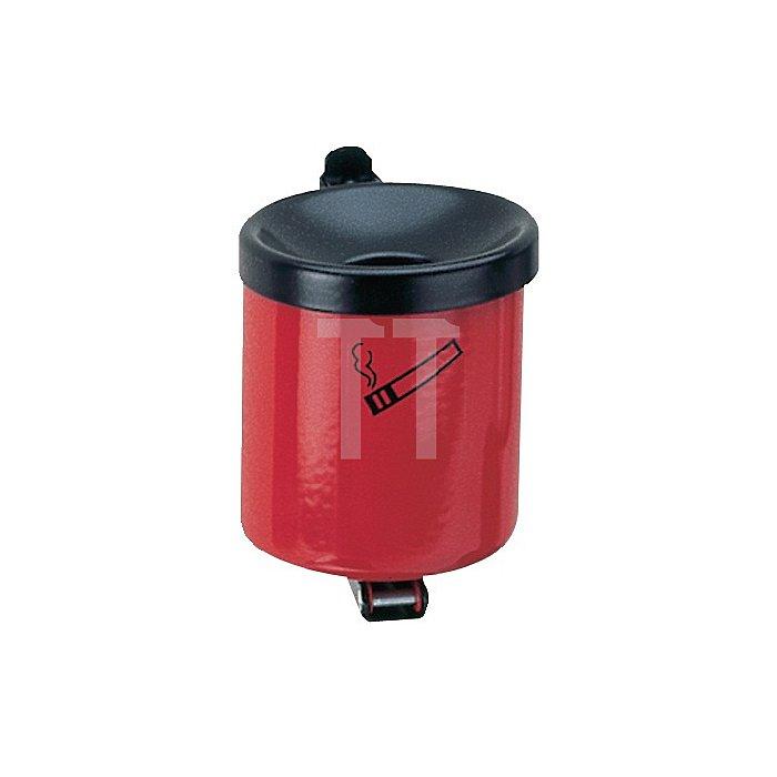 Sicherheitswandascher rot m.Kippvorrichtung H.145xD.150mm