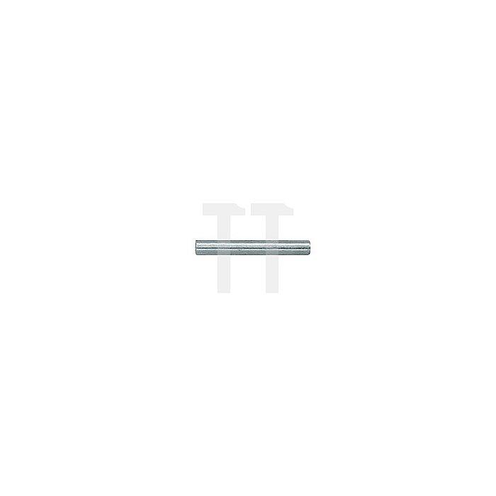 Sicherungsstift D.6mm brün. Sonderstahl