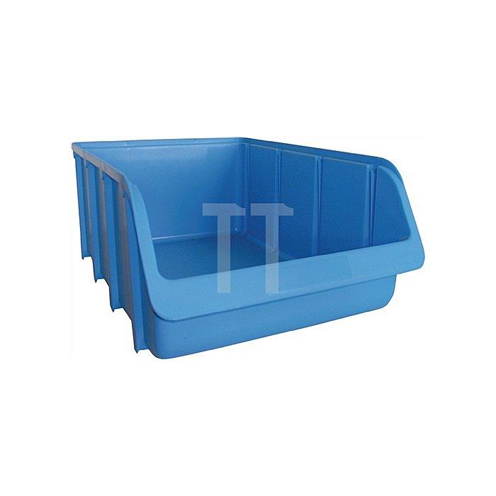 Sichtlagerkasten Gr.3 blau L.240/210xB.145xH.125mm PP stapelbar