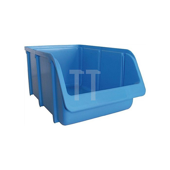 Sichtlagerkasten Gr.5 blau L.470/425xB.310xH.180mm PP stapelbar