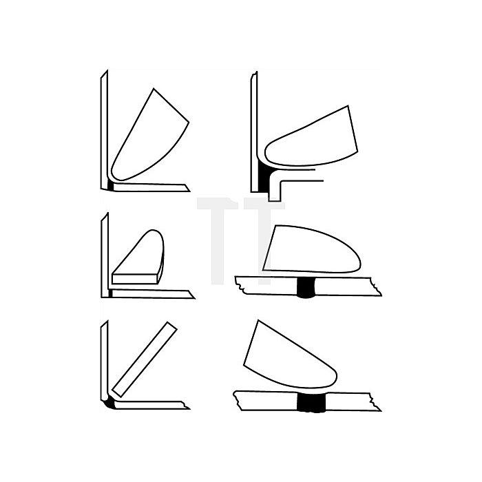 Silikonspachtel f.alle Bereiche f.sämtliche Silikonfugen