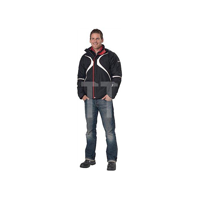Skijacke Gr.M, schwarz, wind-/wasserdicht
