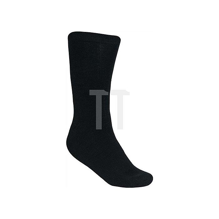 Socken Elten Basic-Socks schwarz Gr. 43-46 elastisches Bündchen