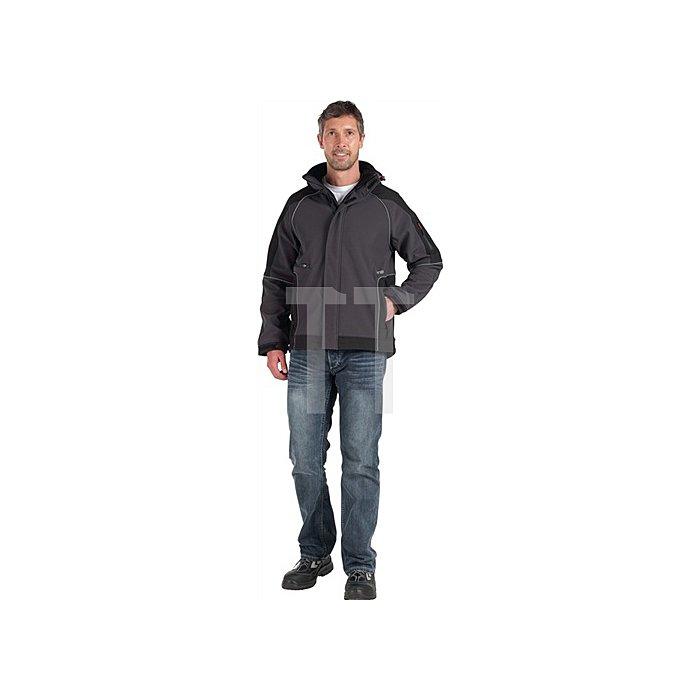 Softshell-Jacke Walter Gr.L anthrazit-schwarz96%PES/4%Elasthan 380 g/qm