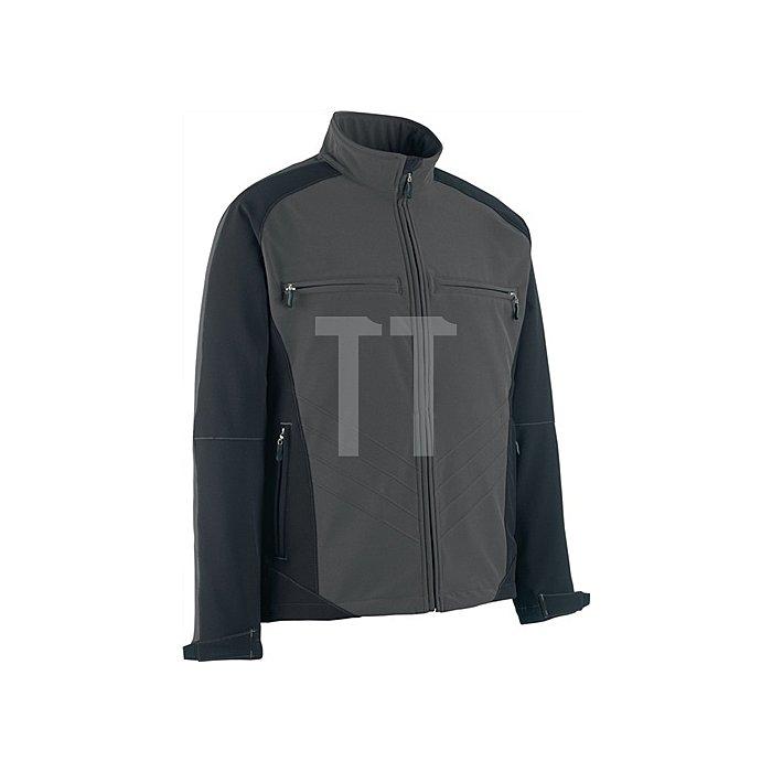 Softshelljacke Dresden Gr.XL dunkelanthrazit/schwarz 100%Polyester