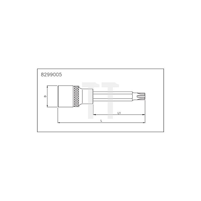 Sonic 1/2' Ribe Biteinsatz, 240mm, M8
