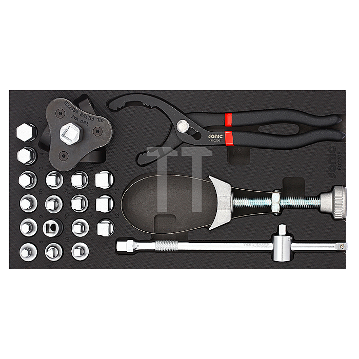 Sonic 1/3 SFS Ölablassschrauben- und Filterset, 22-teilig