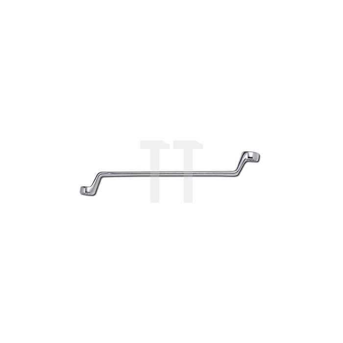 Sonic Abgekröpfter Ringschlüssel, 75°, 25x28mm
