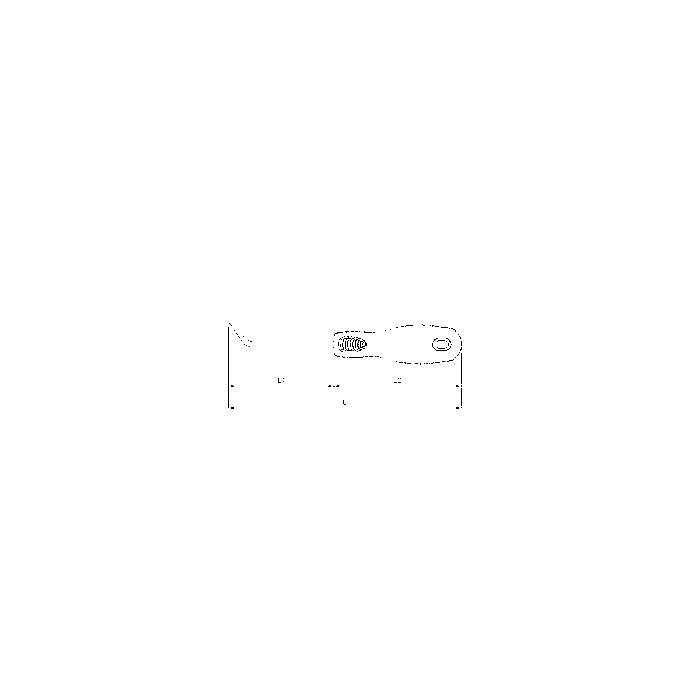Sonic Mini Abzieher, leicht gewinkelt, 143mm