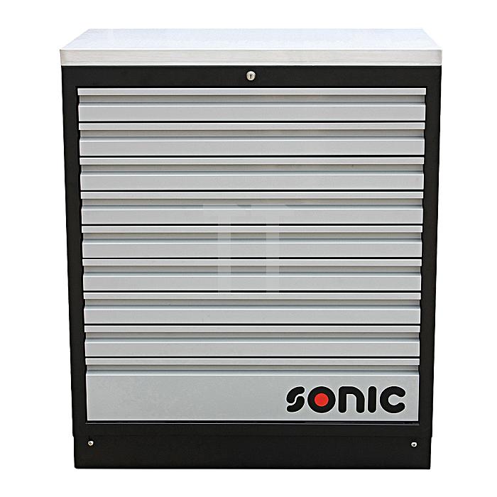 Sonic MSS 34' Schrank mit Edelstahl-Arbeitsplatte