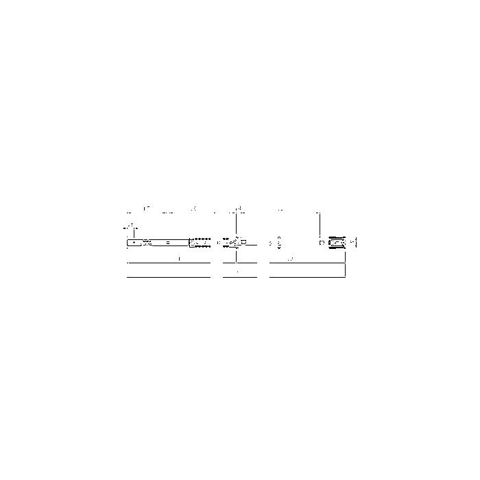 Sonic Schubladenschiene rechts (Jumbo, S11, SWS)