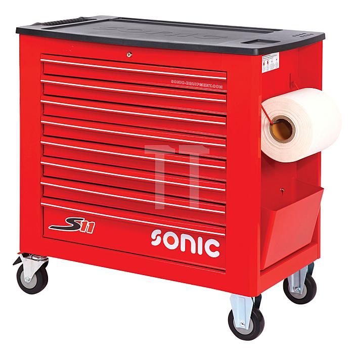 Sonic Werkstattwagen leer, S11, rot