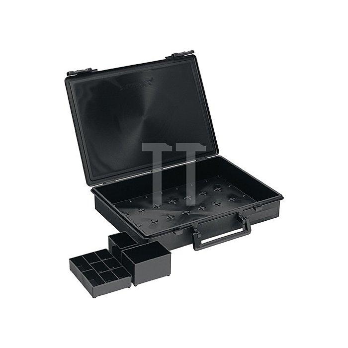 Sortimentskoffer B.338xT.261xH.57mm leitfähig ESD Assorter 55 4x8-0