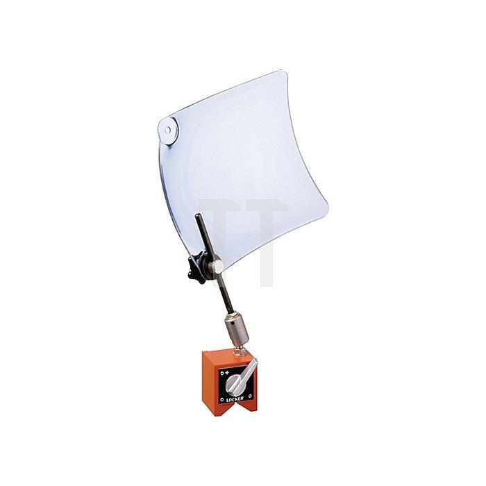 Späneschutzschild Schildgr.250x300mm parabolisch