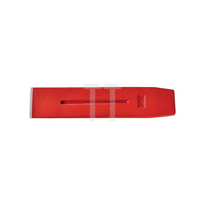 Spaltkeil 2kg Stahl geschmiedet rot lackiert