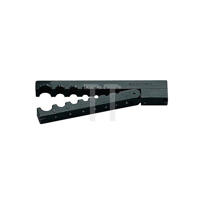 Spannbacken f.Rohre 4/4,75/6/8/10/12/14mm a.Stahl zu Bördelkörper 233000