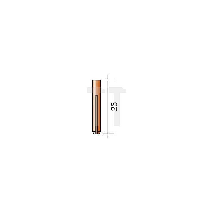 Spannhülse D.2,4mm Länge 50mm