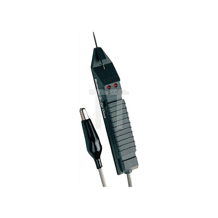 Spannungsprüfer 3-48V DC m.Kabeltestfunktion Car Check