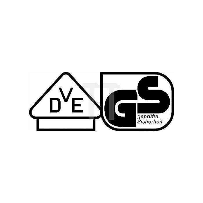 Spannungsprüfer VDE Schlitz 3x70mm Ges.-L.165mm Rundklinge/schwarz