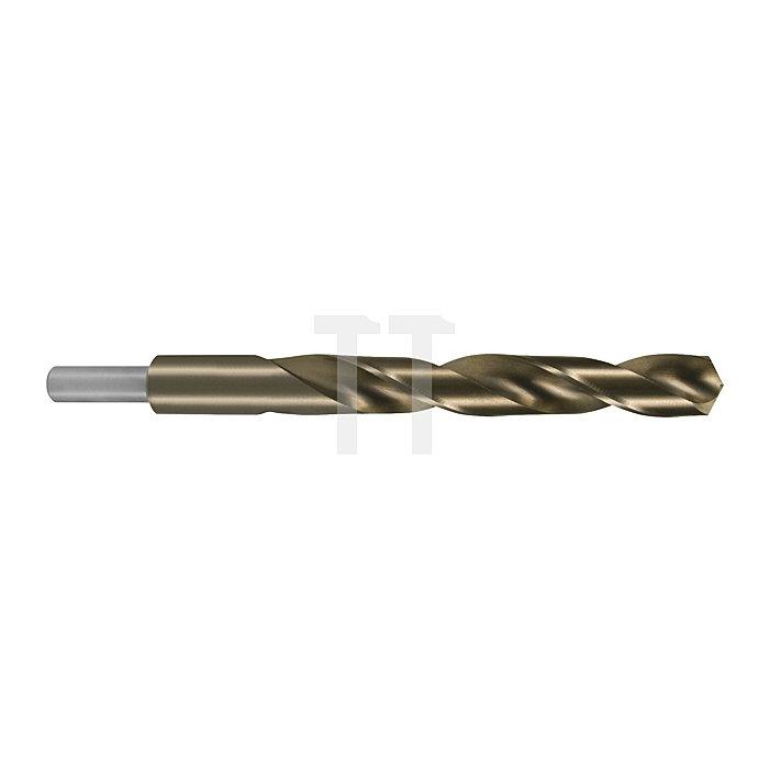 Spiralbohrer DIN 338 HSS-G Co 5 Typ N mit abgesetztem Schaft