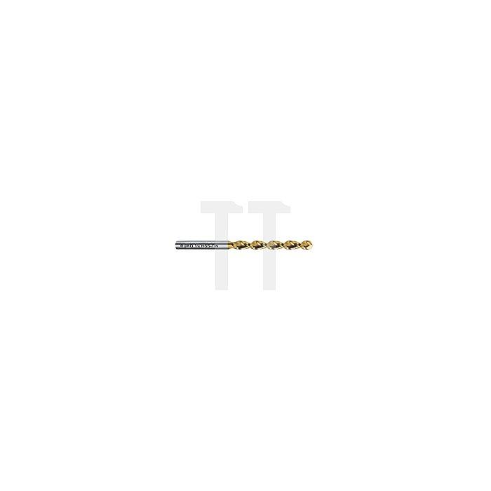 Spiralbohrer DIN 338 TL 3000 HSS-G TiN, mit Kreuzanschliff