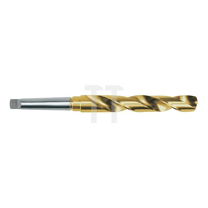 Spiralbohrer DIN 345 Typ N HSS-G Co 5 TiN