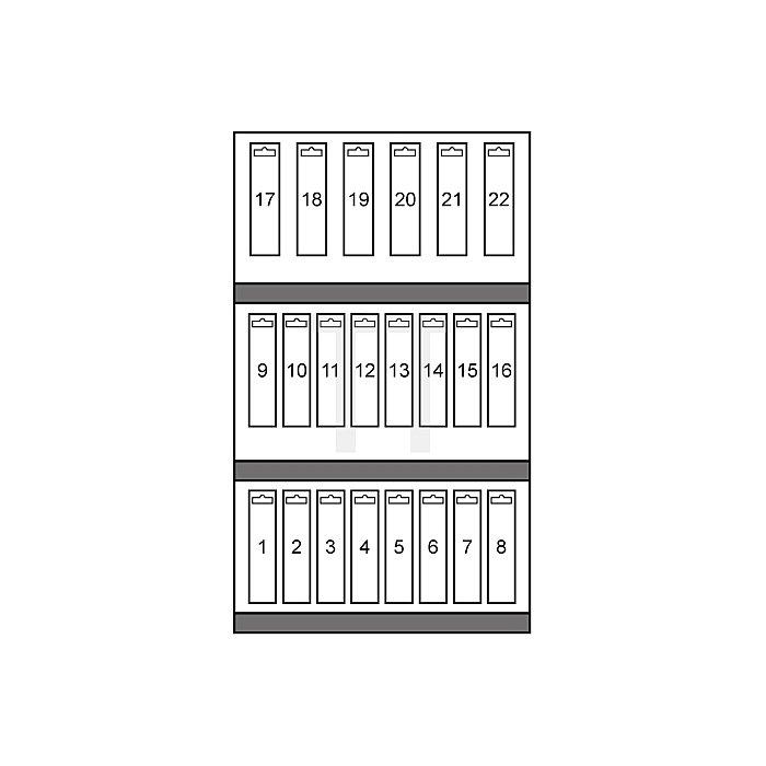 Spiralbohrer-Modul DIN 338 Typ N HSS-G mit Kreuzanschliff in Quadro Pack