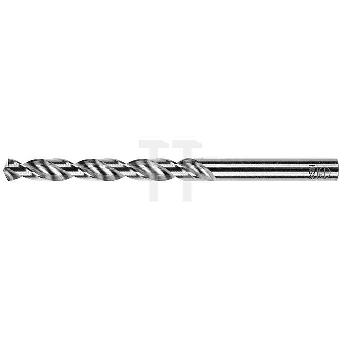 Spiralbohrer, zyl., kurz Ø 6,3mm Typ W HSS rechts für Aluminium