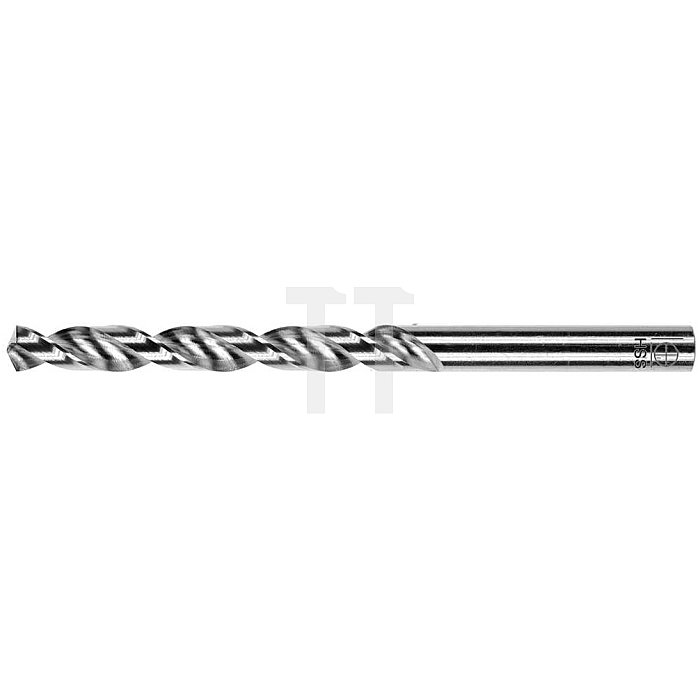 Spiralbohrer, zyl., kurz Ø 6,5mm Typ W HSS rechts für Aluminium