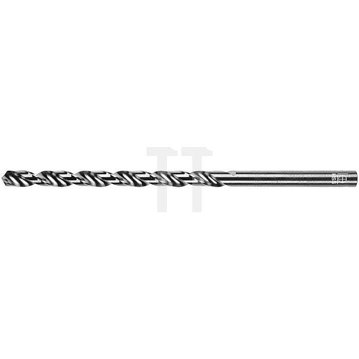 Spiralbohrer, zyl., lang Ø 1mm Typ W HSS rechts