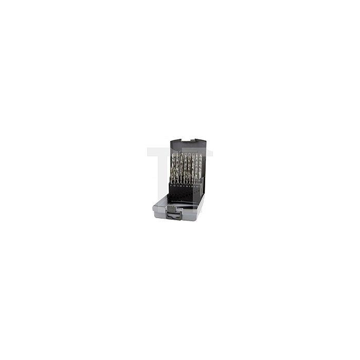 Spiralbohrersatz DIN 338 Typ N HSS G in Kunststoffkassette (ABS)