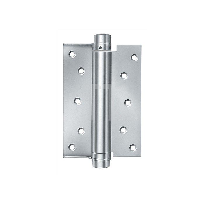 Spiralfeder-Türband Modell M Größe 5 Länge 125mm Stahl blank einseitig wirkend
