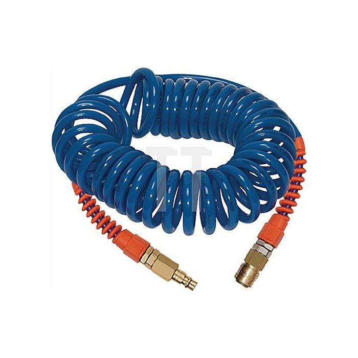 Spiralschl.-Kupplung-Set PU 9,5 x 6,3 mm 7,5 m Arbeitslänge