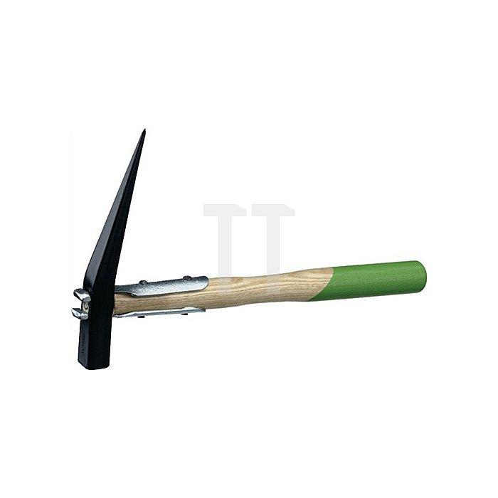 Spitzhammer L.330mm 375g handgeschmiedet, polierter Holzstiel Freund