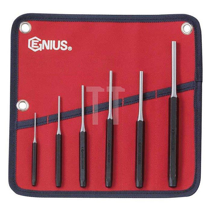 Splintentreiber, Durchtreiber Set + Werkzeugmappe 6tlg.