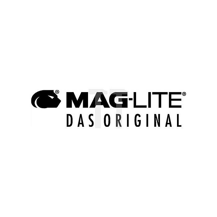 Stableuchte Mini Maglite 1 LED schwarz 84Lumen 2x1,5V AAA Microzelle L.125mm