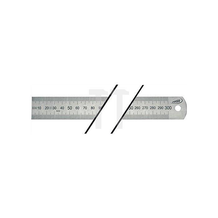 Stahlmaßstab L.2000mm biegsam Teilung A=mm/mm