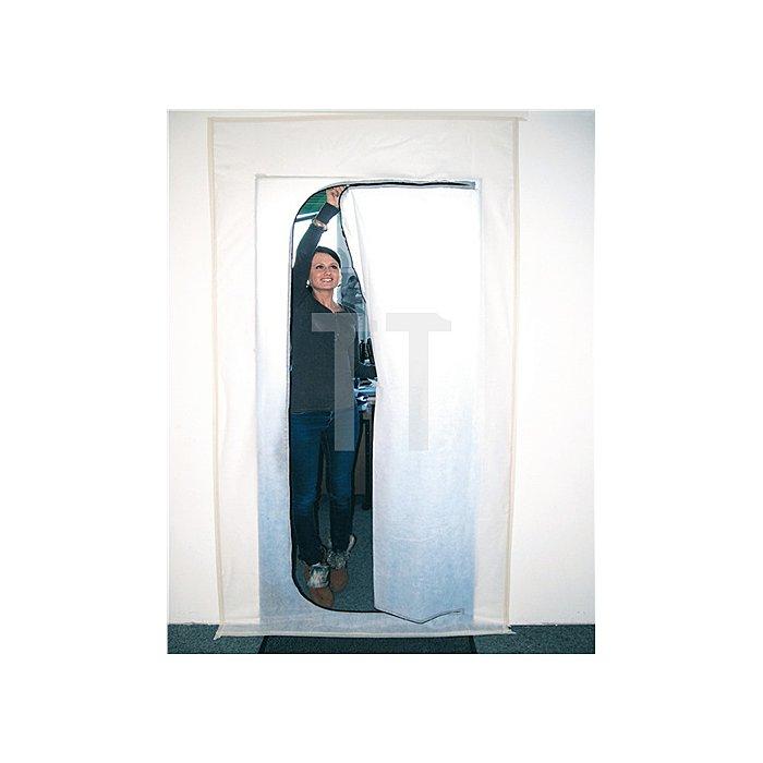 Staubschutztür 230 x 120 Reißverschluß 330cm Kleberolle 25mm 25m