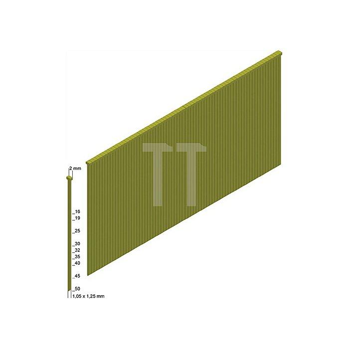 Stauchkopfnägel J35CNKHA 1,05x1,25mm/35mm verzinkt/geharzt