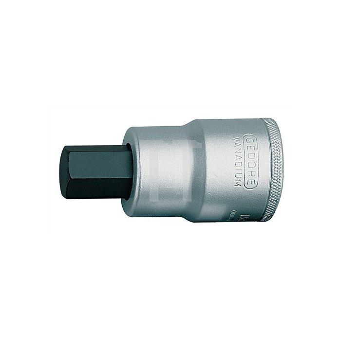 Steckschlüssel-Einsatz SW19mm 3/4Zoll 4KT GEDORE DIN7422