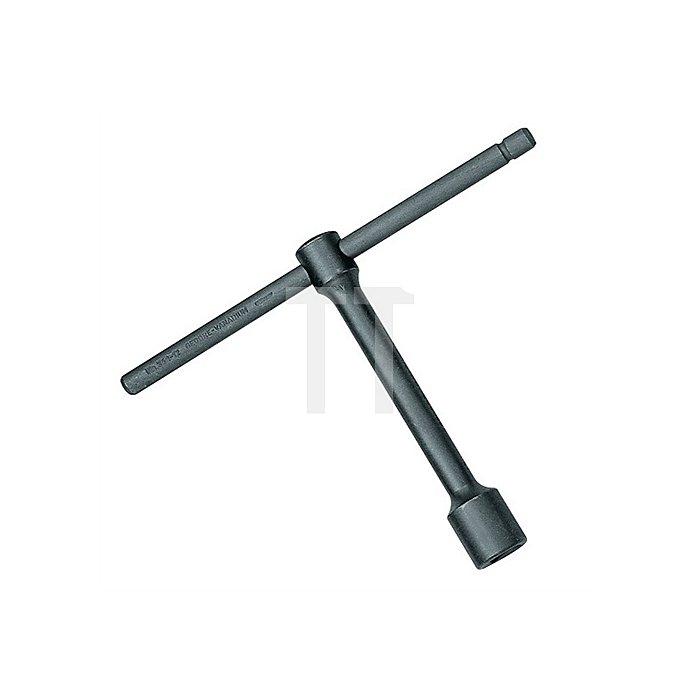 Steckschlüssel SW 14mm 6KT m.Drehstift CV.