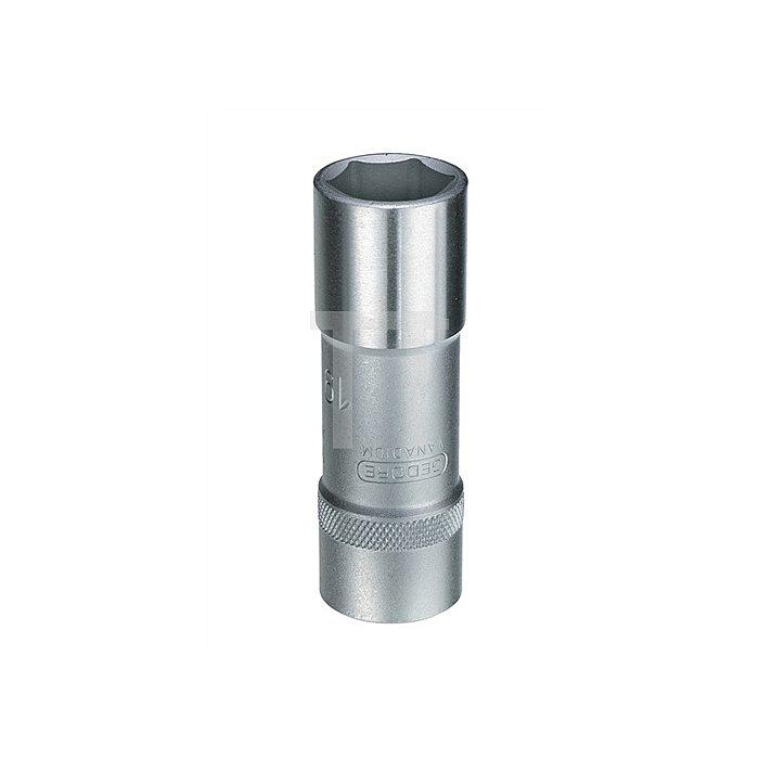 Steckschlüsseleinsatz 1/2Zoll lang 6-kant 16mm