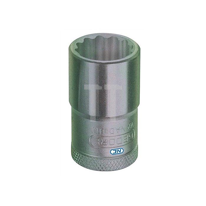 Steckschlüsseleinsatz 1/2Zoll NC UD-Profil 19/32Zoll