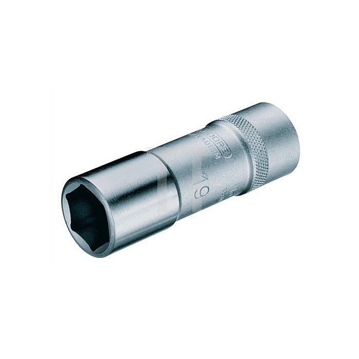Steckschlüsseleinsatz 1/2Zoll SW 10mm 6KT L.77mm UD-Profil lang CV.
