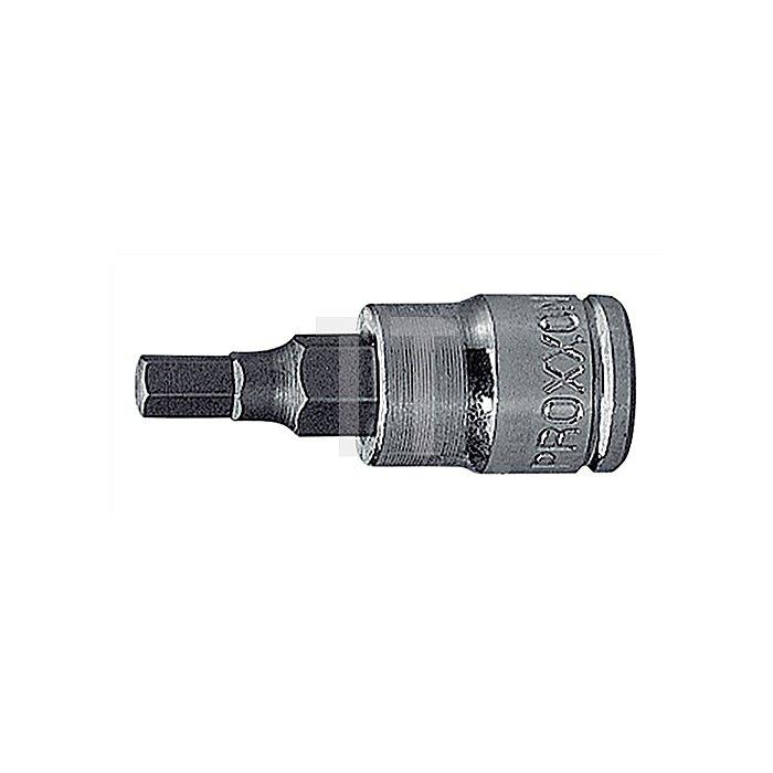 Steckschlüsseleinsatz 1/4Zoll Innen-6KT SW 3mm L.32,5mm SB