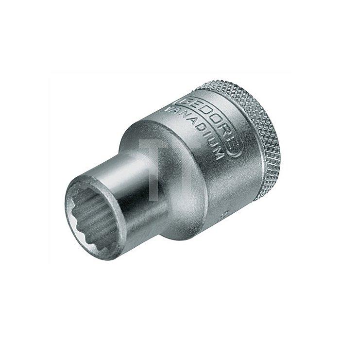 Steckschlüsseleinsatz 36mm Chrom UD-Profil