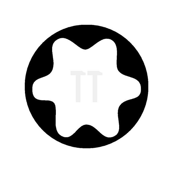 Steckschlüsseleinsatz 3/8Zoll Außen-TORX E6