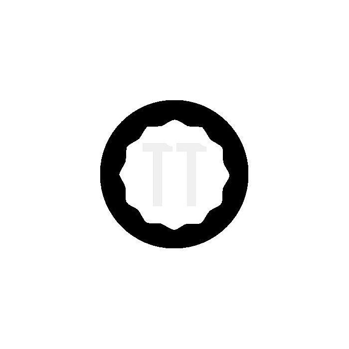 Steckschlüsseleinsatz 3/8Zoll lang UD-Profil 19mm