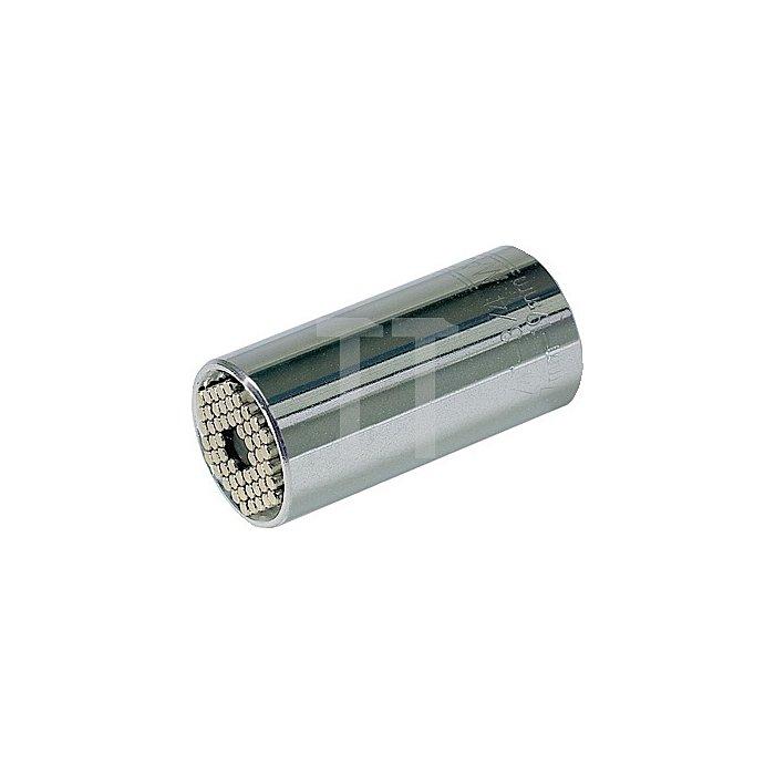Steckschlüsseleinsatz 914601 DIN3120 Gripper 4KT 3/8Zoll D.25,4 Form C Wiha